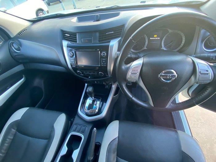 2016 Nissan Navara ST N-SPORT D23 4X4 Dual Range White Diamond