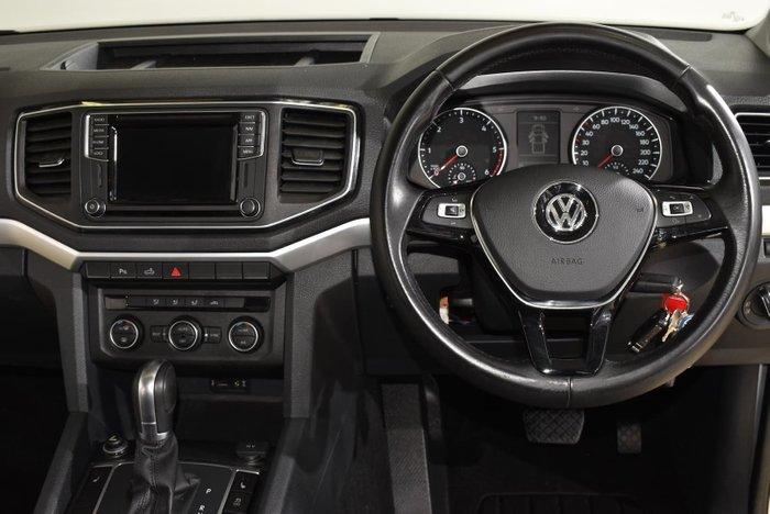 2018 Volkswagen Amarok TDI550 Highline 2H MY18 4X4 Constant Reflex Silver