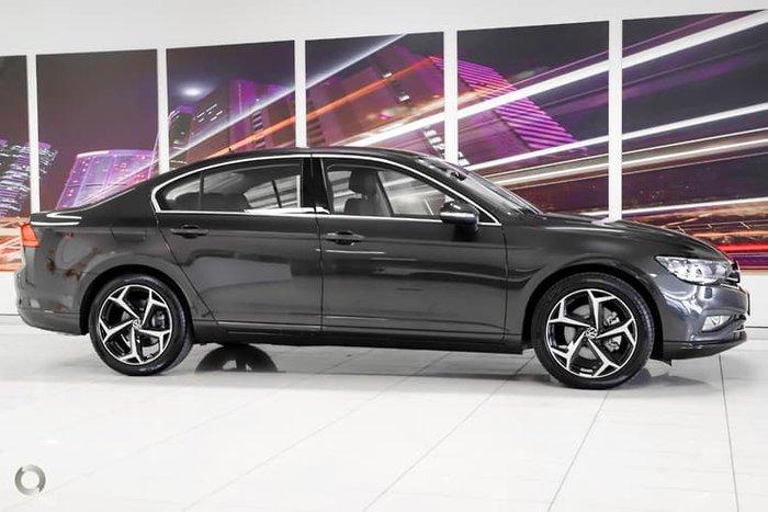 2021 Volkswagen Passat 140TSI Business B8 MY21 Manganese Grey