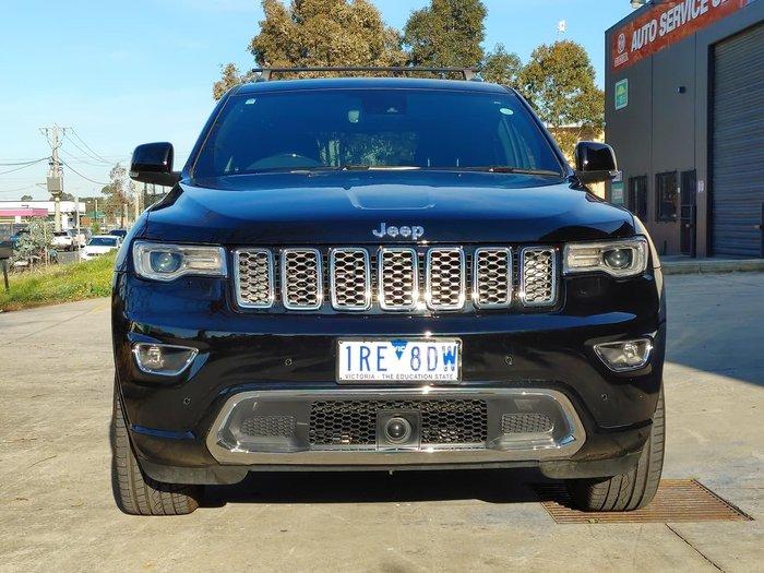 2019 Jeep Grand Cherokee Overland WK MY20 4X4 Dual Range Black