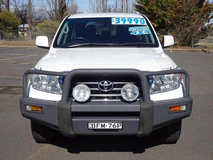 2008 Toyota Landcruiser GXL UZJ200R 4X4 Constant White