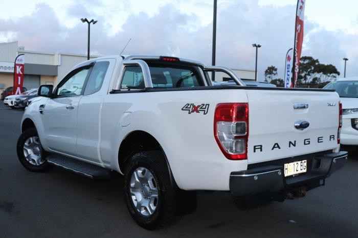 2017 Ford Ranger XLT PX MkII 4X4 Dual Range Cool White