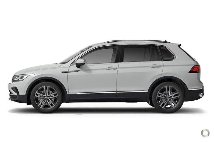 2021 Volkswagen Tiguan 162TSI Elegance 5N MY21 Four Wheel Drive Pure White