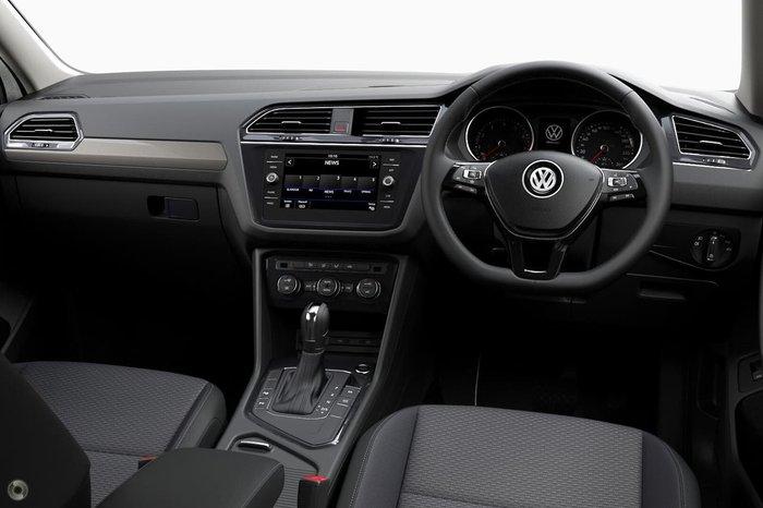 2021 Volkswagen Tiguan 132TSI Comfortline Allspace 5N MY21 Four Wheel Drive Silver