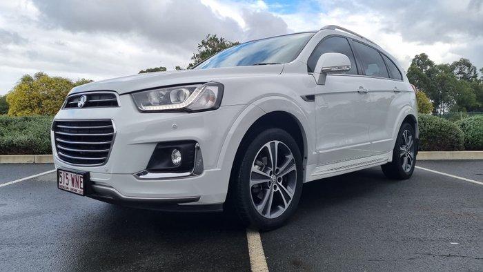 2015 Holden Captiva 7 LTZ CG MY15 AWD Snowflake Pearl