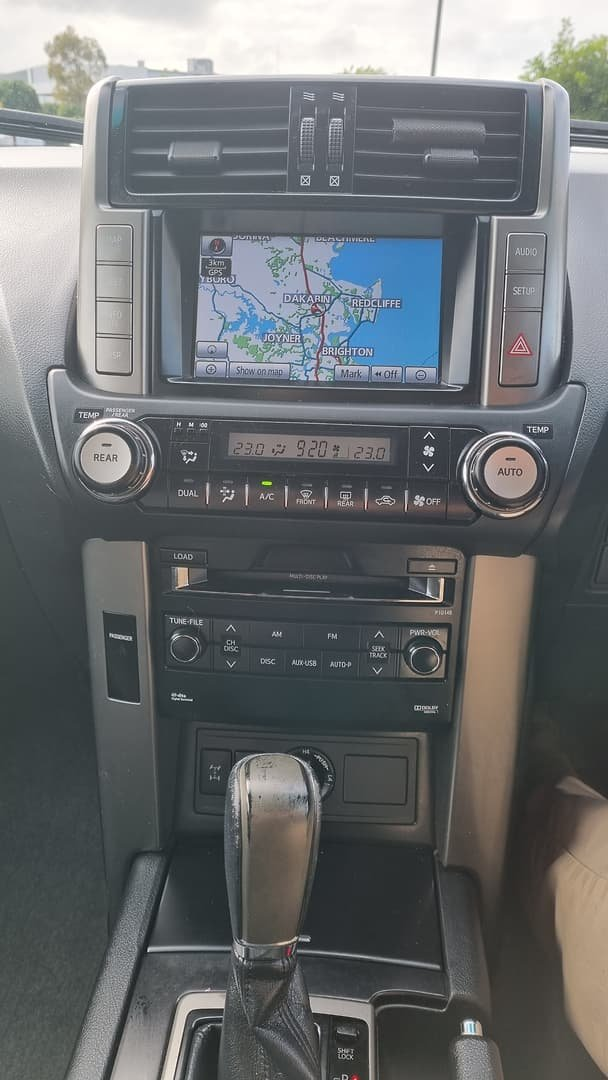 2013 Toyota Landcruiser Prado Altitude KDJ150R 4X4 Constant Graphite