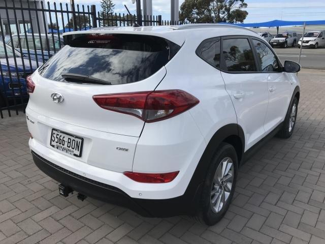 2017 Hyundai TUCSON 2017 Hyundai TLe TUCSON WG ACTIVE 2.0D AUTO (D7W52EC5GDD304) White