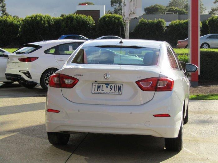 2018 Holden Astra LS BL MY18 Summit White
