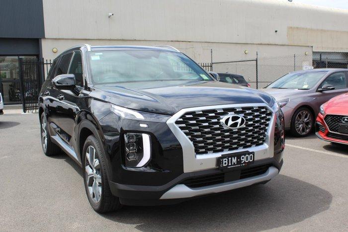 2020 Hyundai Palisade Highlander LX2.V1 MY21 Timeless Black