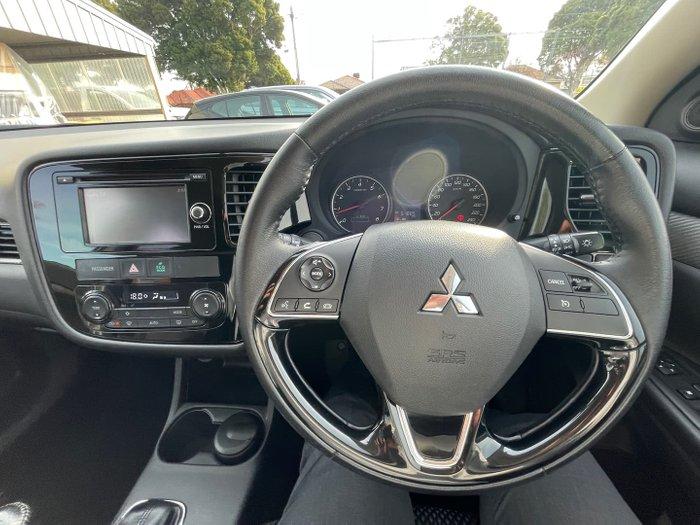 2016 Mitsubishi Outlander LS ZK MY17 Cool Silver