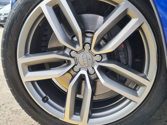 2015 Audi SQ5 TDI 8R MY16 Four Wheel Drive Sepang Blue