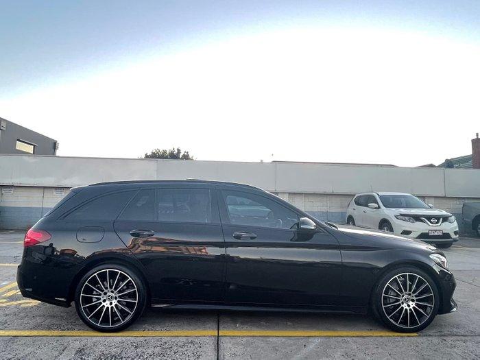 2017 Mercedes-Benz C-Class C200 S205 Black