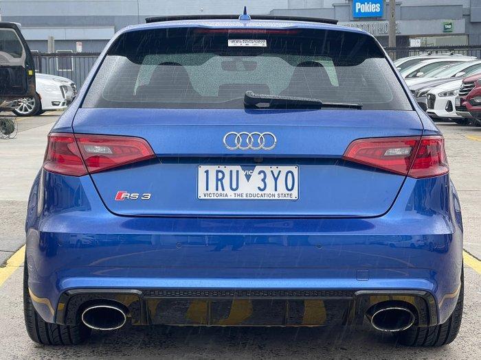 2016 Audi RS3 8V MY16 Four Wheel Drive Sepang Blue