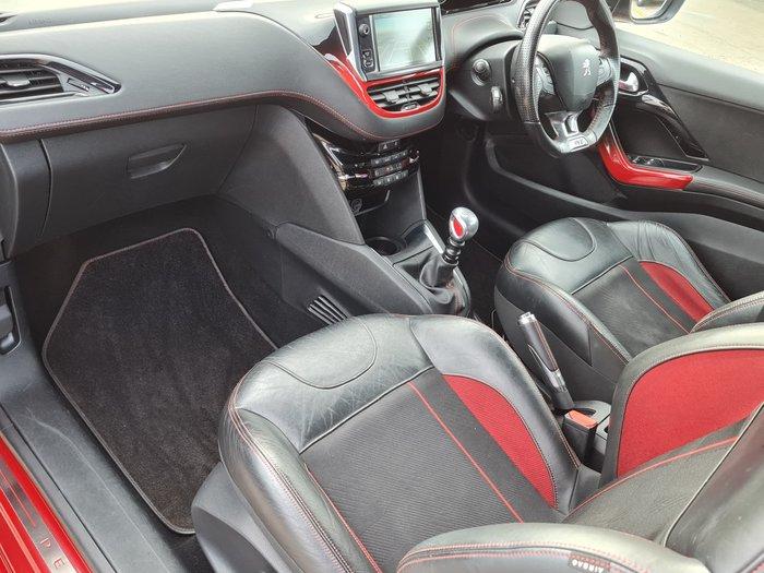2014 Peugeot 208 GTi A9 MY14 Rioja Red