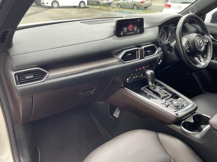 2018 Mazda CX-8 Asaki KG Series AWD Snowflake White Pearl