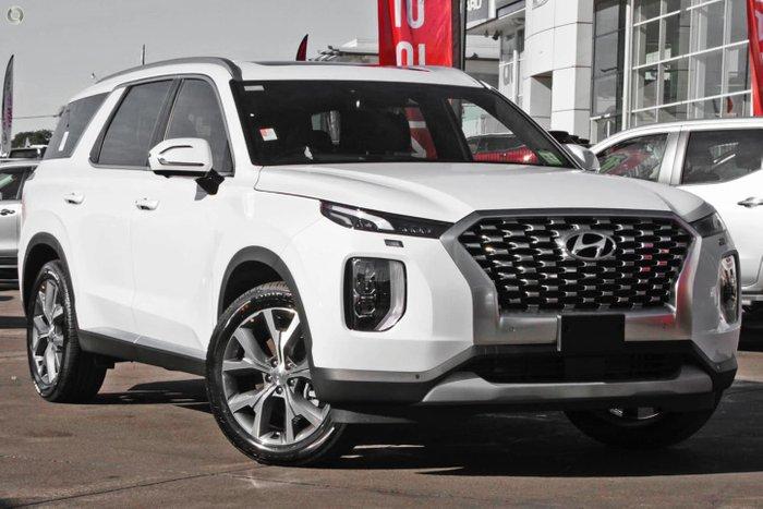 2021 Hyundai Palisade Highlander LX2.V1 MY21 White Cream