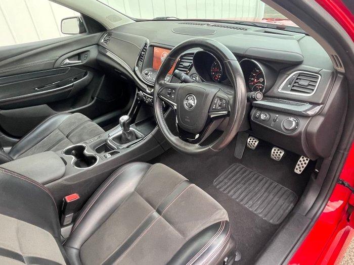 2016 Holden Ute SV6 Black VF Series II MY16 Redhot