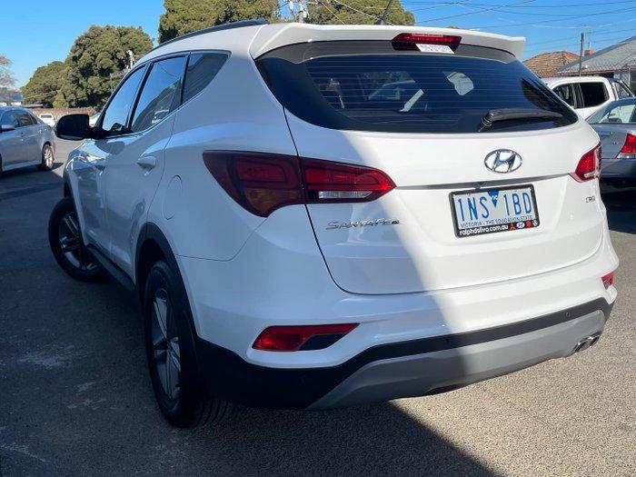 2018 Hyundai Santa Fe Active DM5 Series II MY18 4X4 On Demand White Crystal