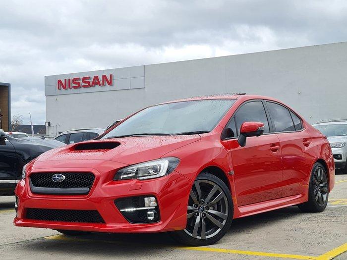 2016 Subaru WRX Premium V1 MY17 AWD Pure Red
