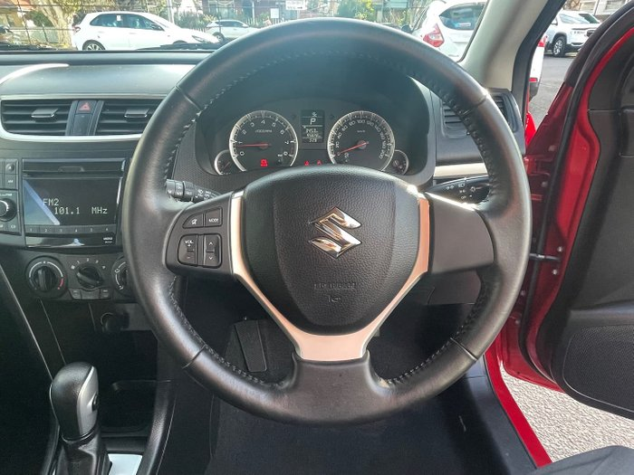 2011 Suzuki Swift GL FZ Ablaze Red Pearl