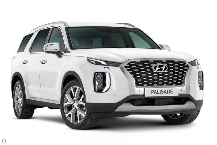 2021 Hyundai Palisade Highlander LX2.V1 MY21 AWD White Cream