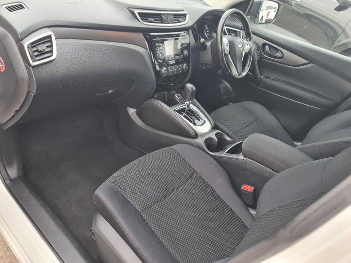2015 Nissan QASHQAI ST J11 Ivory Pearl