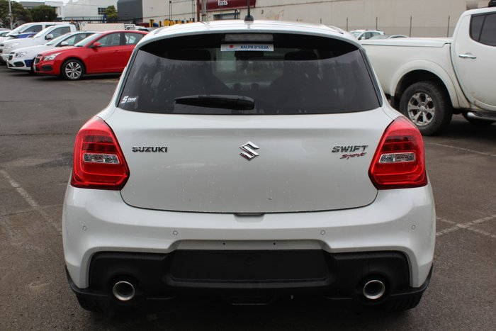 2019 Suzuki Swift Sport AZ Pure White