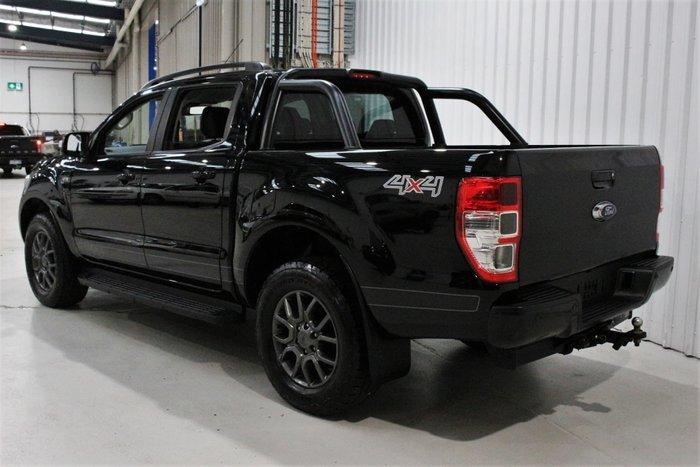 2017 Ford Ranger FX4 PX MkII MY18 4X4 Dual Range Shadow Black