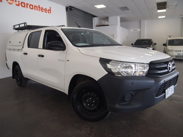 2015 Toyota Hilux Workmate TGN121R White