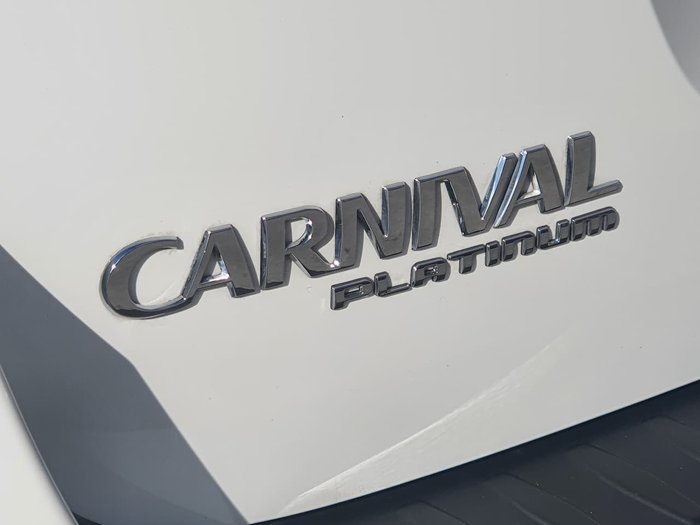 2019 Kia Carnival Platinum YP MY20 White