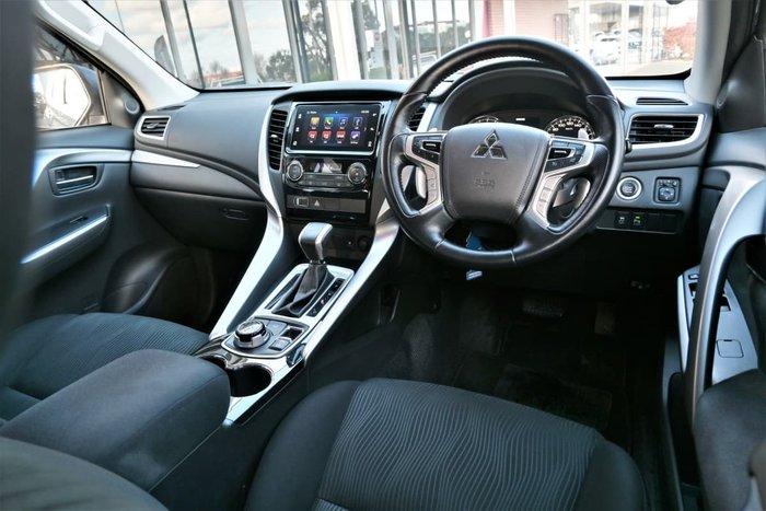 2017 Mitsubishi Pajero Sport GLX QE MY17 4X4 Dual Range Titanium