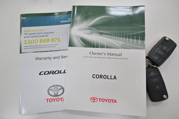 2016 Toyota Corolla Ascent ZRE172R Silver Ash
