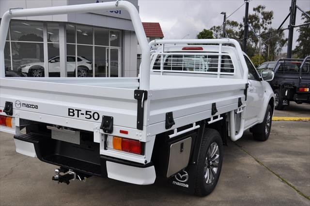 2021 MAZDA BT-50 XT BT-50 B 6AUTO 3.0L SINGLE CHASSIS XT 4X4 Ice White