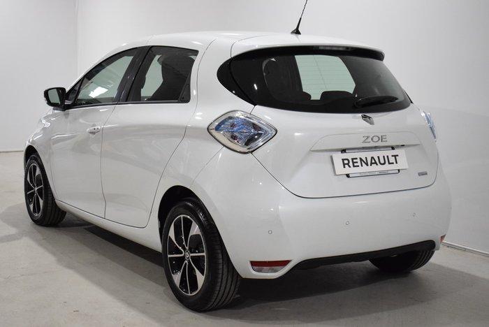 2019 Renault Zoe Intens B10 Arctic White