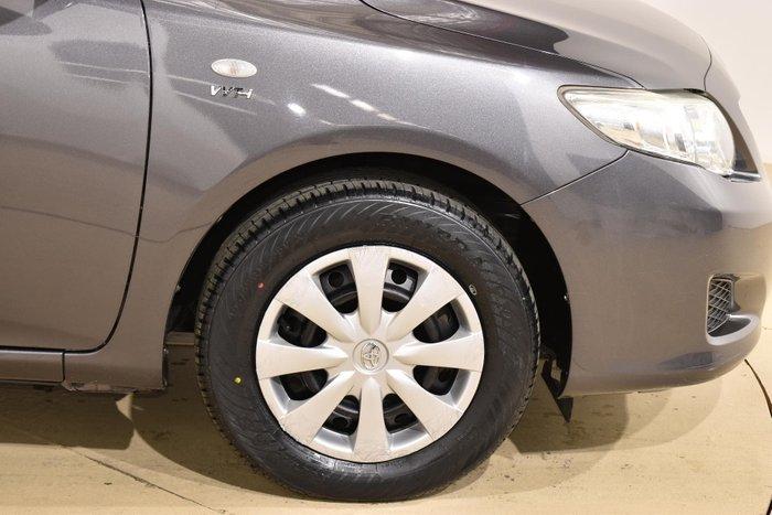 2009 Toyota Corolla Ascent ZRE152R Graphite