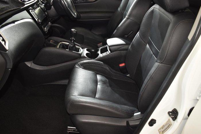 2014 Nissan QASHQAI Ti J11 Ivory Pearl