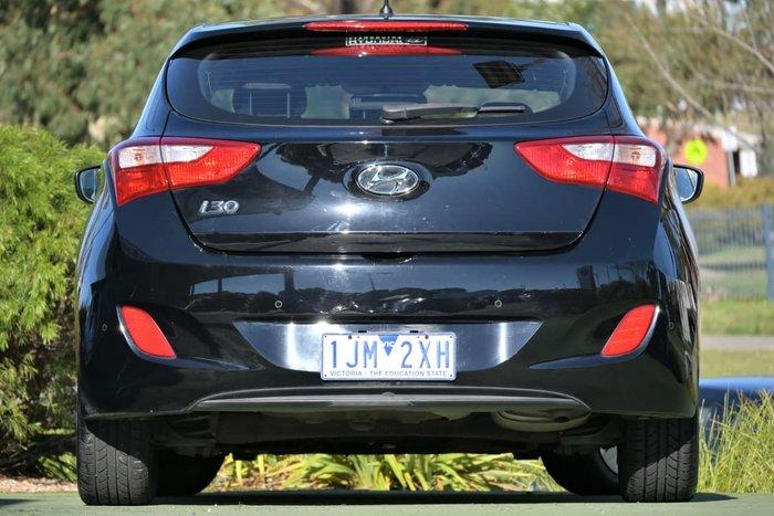 2017 Hyundai i30 Active GD4 Series II MY17 Phantom Black