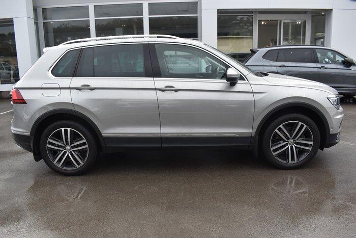 2019 Volkswagen Tiguan 162TSI Highline 5N MY19.5 Four Wheel Drive Indium Grey