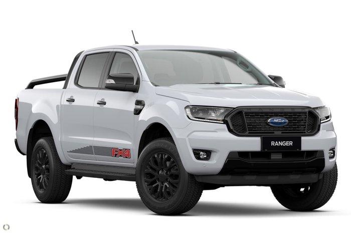 2021 Ford Ranger FX4 PX MkIII MY21.75 4X4 Dual Range Arctic White