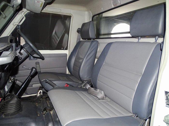 2008 Toyota Landcruiser Workmate VDJ79R 4X4 Dual Range French Vanilla