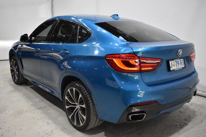 2018 BMW X6 xDrive30d F16 4X4 Constant Long Beach Blue