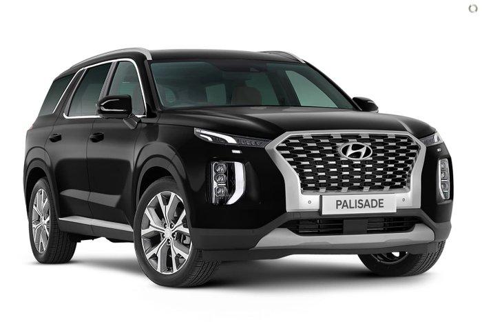 2021 Hyundai Palisade Highlander LX2.V1 MY21 Timeless Black