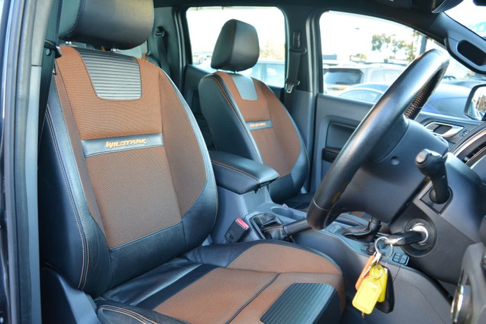 2016 Ford Ranger Wildtrak PX MkII 4X4 Dual Range Meteor Grey
