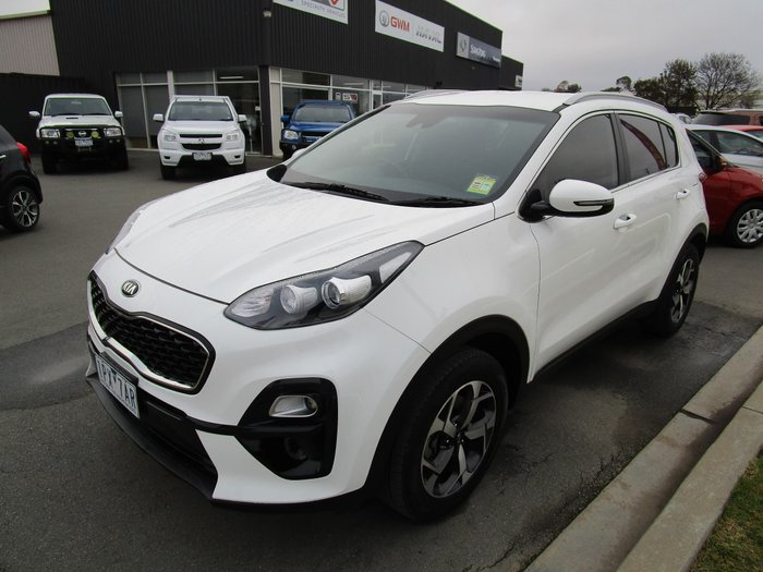 2019 Kia Sportage S QL MY20 Clear White