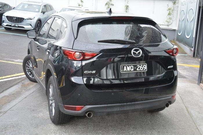 2018 Mazda CX-5 Maxx Sport KF Series Jet Black