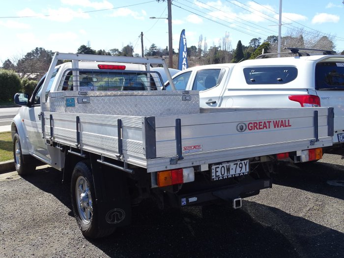 2014 Great Wall V240 K2 MY14 Titanium White