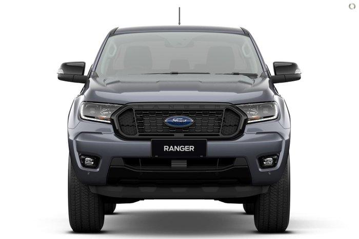 2021 Ford Ranger FX4 PX MkIII MY21.75 4X4 Dual Range Meteor Grey