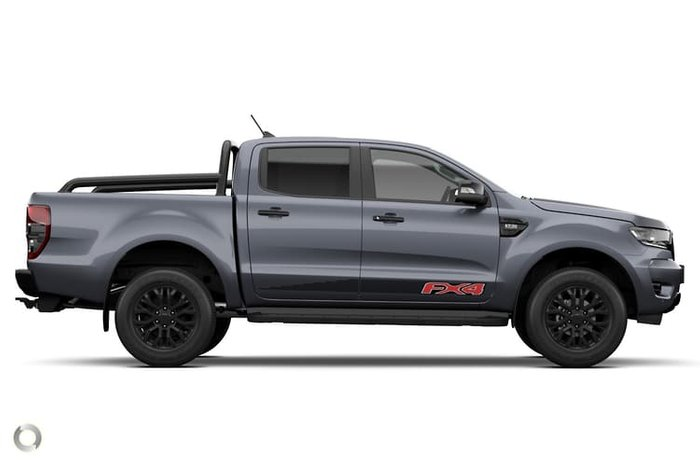 2021 Ford Ranger FX4 PX MkIII Meteor Grey