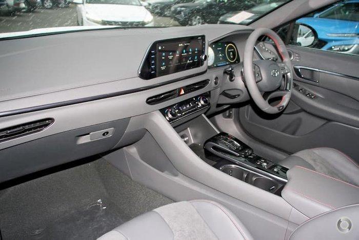 2021 Hyundai Sonata N Line DN8.V1 White Cream
