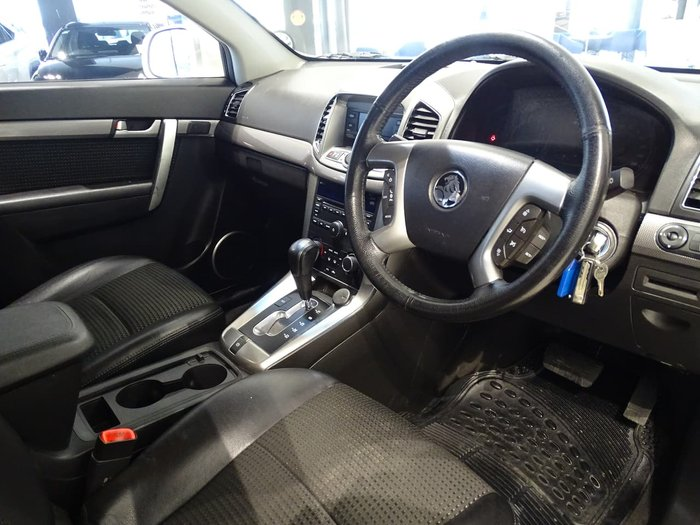 2011 Holden Captiva 7 CX CG Series II AWD White